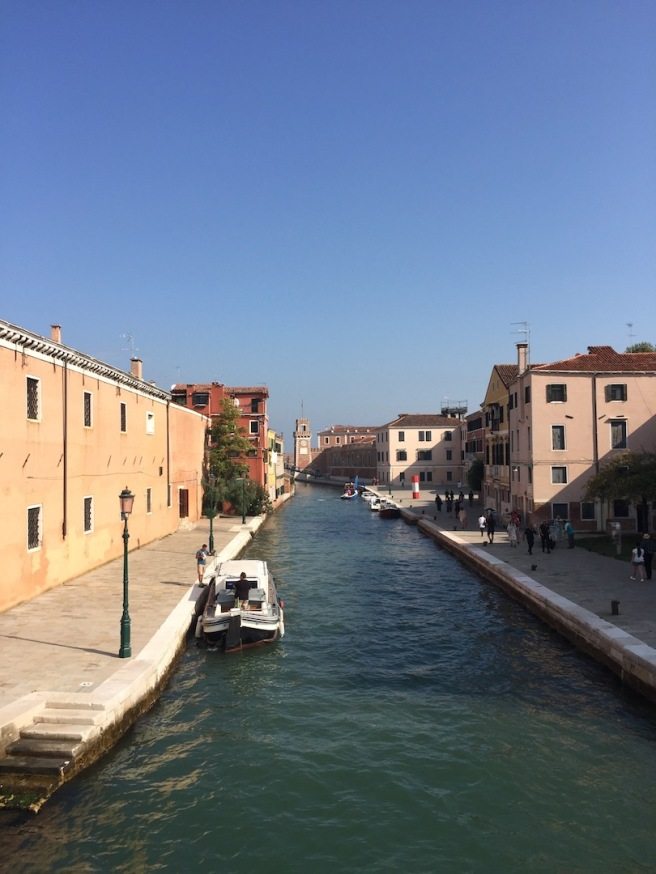 how many spectacular views can one have in Venice
