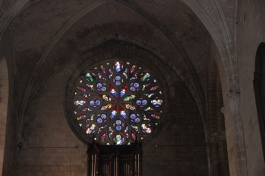 Stained Glass in La Rochefoucauld