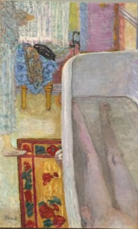 Bonnard's wife in the bath