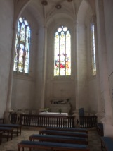 Chapel at Chateau Rochefoucauld