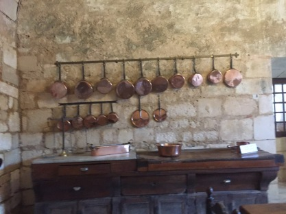 Old kitchen at Chateau